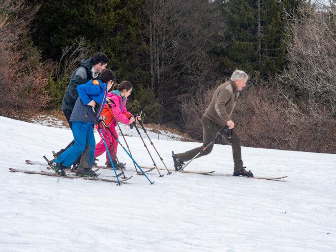 Le ski de randonnée nordique, une pratique respectueuse de l'environnement © plbillot