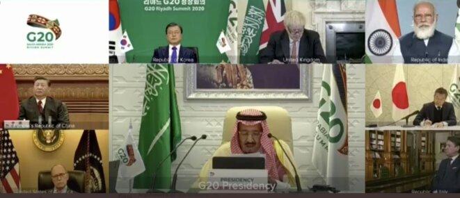 G20-Arabie Saoudite, 22 novembre 2020