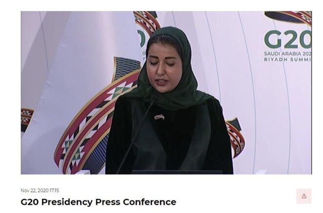 G20-Arabie Saoudite-22 novembre 2020