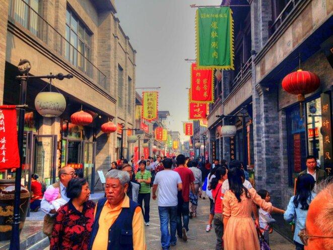 Pékin : l'espace public est vivant, la culture de rue prospère