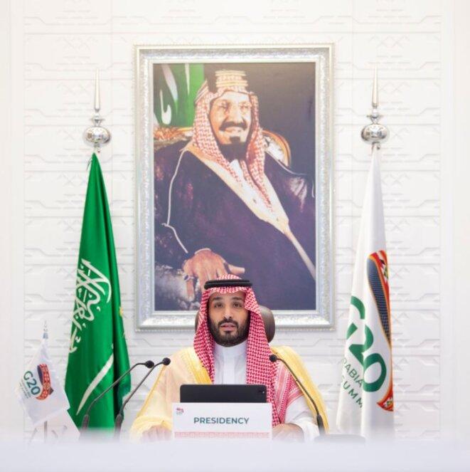 G20 – Arabie saoudite – Le Prince héritier Mohammed ben Salmane