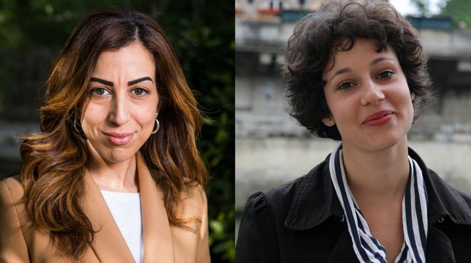 Faïza Guène (à gauche) et Alice Zeniter. © Camille Millerand/Clément Camar-Mercier