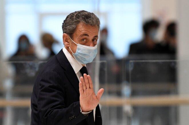 Au tribunal de Paris, le 23 novembre. © Bertrand Guay/AFP