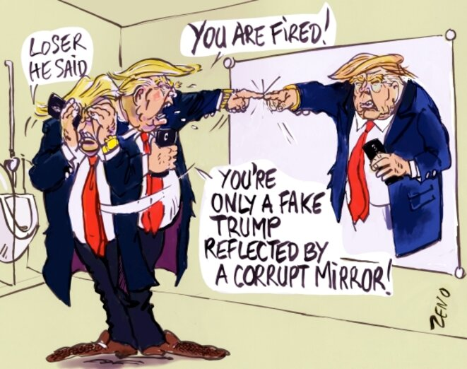 fake Trump © zeno