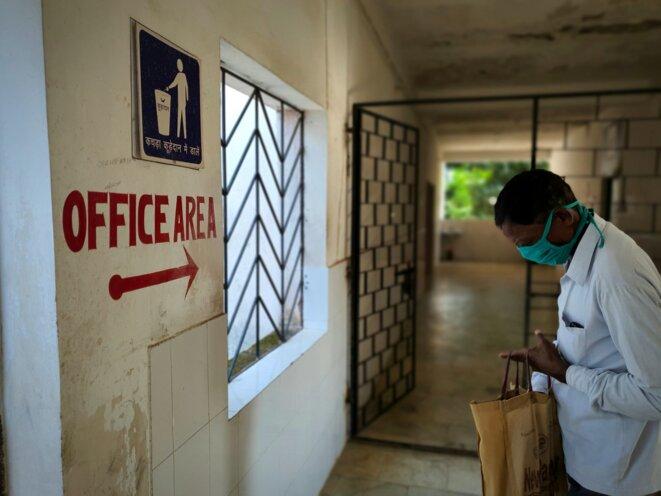 Un hôpital de campagne. © CB