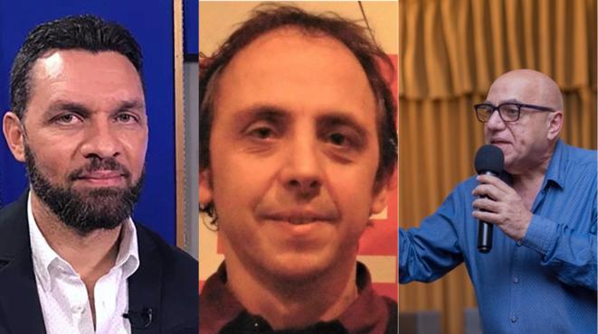 Dimitri Vorbe, Reginald Boulos, Frédéric Thomas