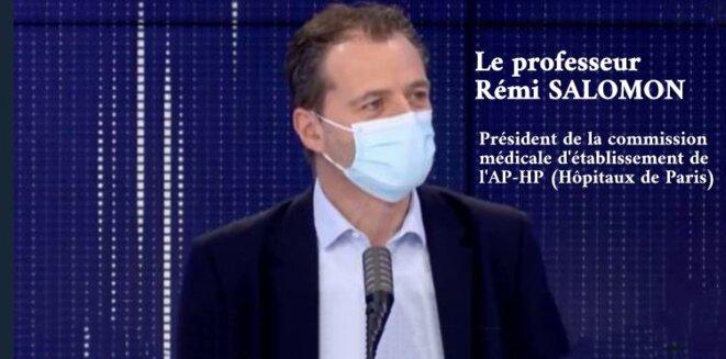 Le professeur Rémi Salomon © Claude Carrère