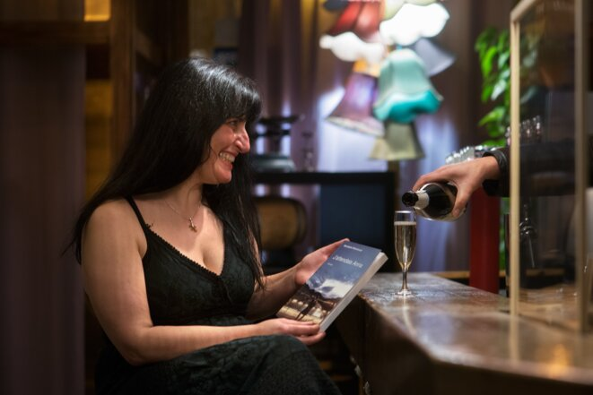 Ana Cristina Ventura au bar le Marulaz, Besançn © Patrice frosans
