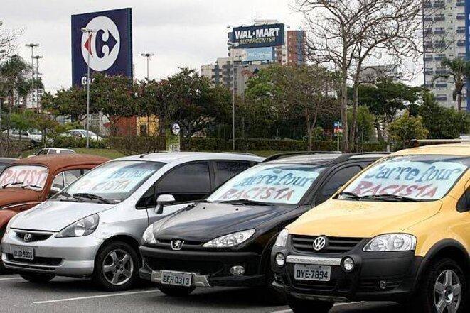 Photo à Carrefour Osasco (São Paulo) © Portal Geledes