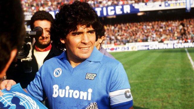 Diego Maradona, un joueur éternel