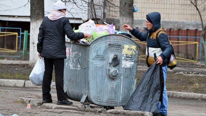 Ukraine : niveau de vie bas © Kiszo.net