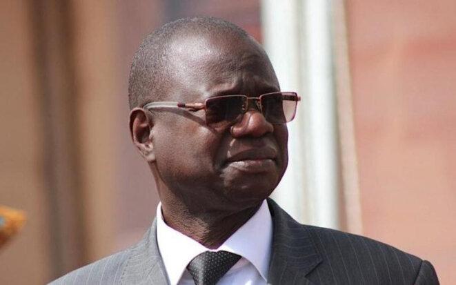 Augustin Tine, ancien ministre des forces armées du Sénégal