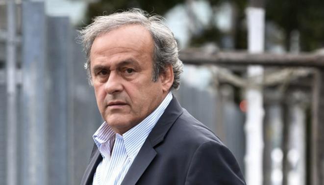 Michel Platini le 31 août 2020 à Berne. © Fabrice Coffrini / AFP