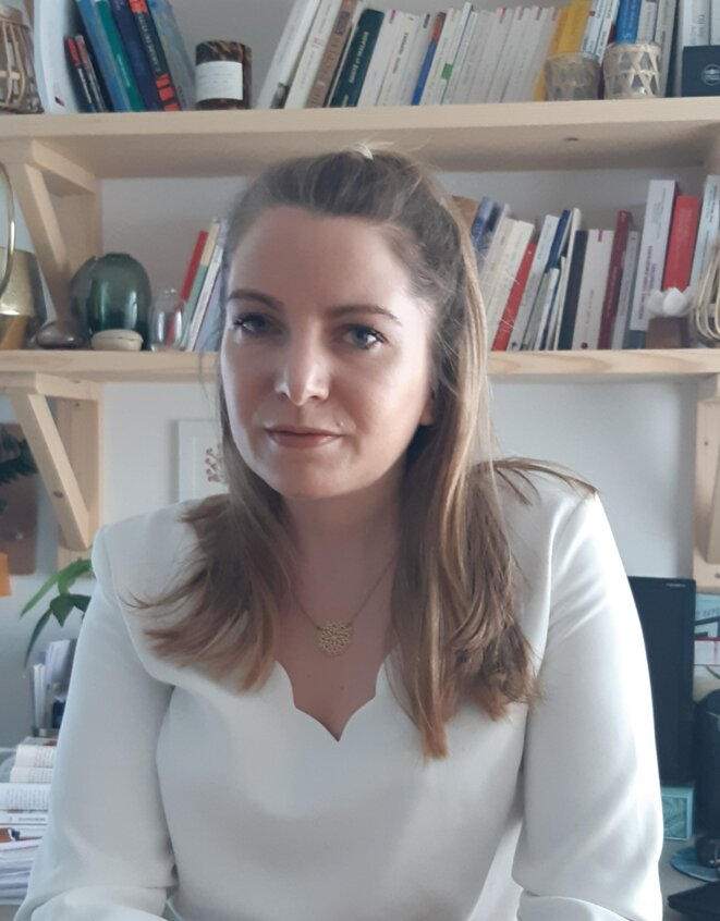 La géographe Lucie Guimier, spécialisée en santé publique. © @DR