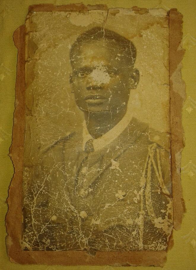 M'bap Senghor, tué à Thiaroye le 1er décembre 1944