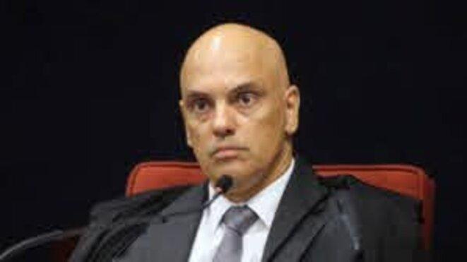 Alexandre de Moraes, ministre du STF depuis le 22/3/17, et rapporteur de l'enquête sur les interférences du PR.