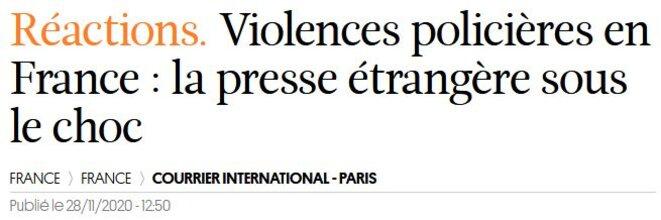 violences-policieres-courrier-internatiional-281120