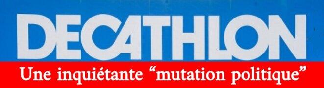 """L'enseigne Décathlon """"engagée"""" © Claude Carrère"""