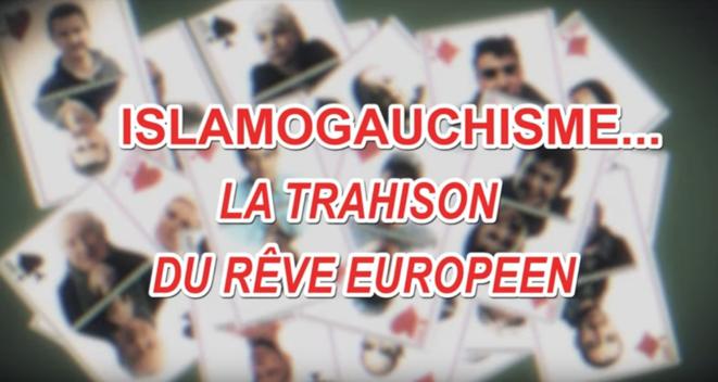 Capture d'écran du film Islamogauchisme... La trahison du rêve européen © Yves Azeroual