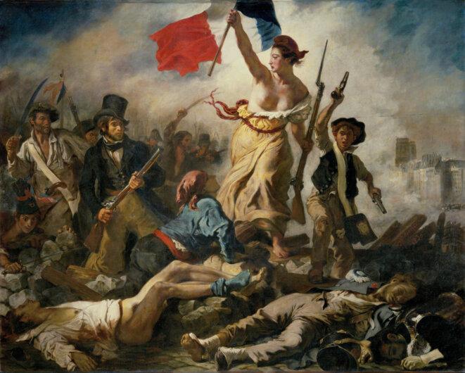 La Liberté guidant le peuple © Eugène Delacroix, 1830
