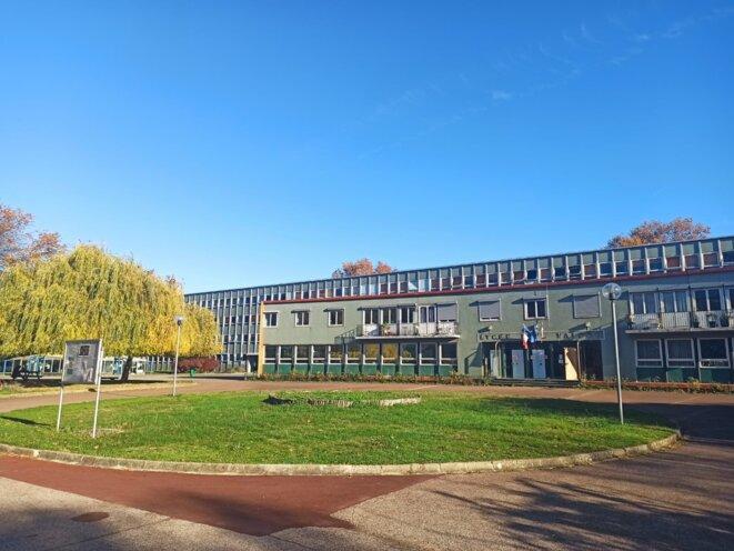 Cité scolaire Paul-Valéry, à Paris.