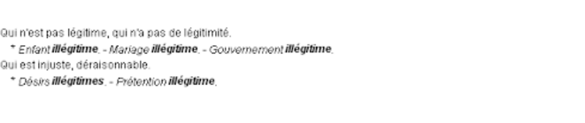 ille-gitime