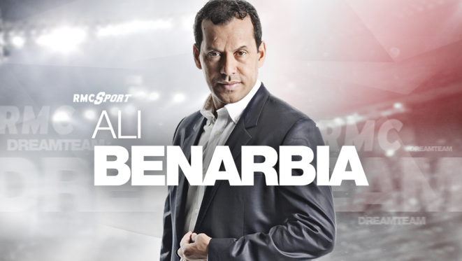 Ali Bernarbia was a member of the 'dream team' of football pundits on RMC Sport from 2010 to 2019. © RMC Sport