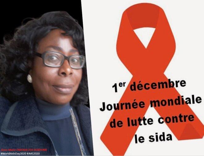 AM DWORACZEK-BENDOME   Nous ne reculerons devant rien pour faire reculer le #VIH / #sida. Tous ensemble contre le sida