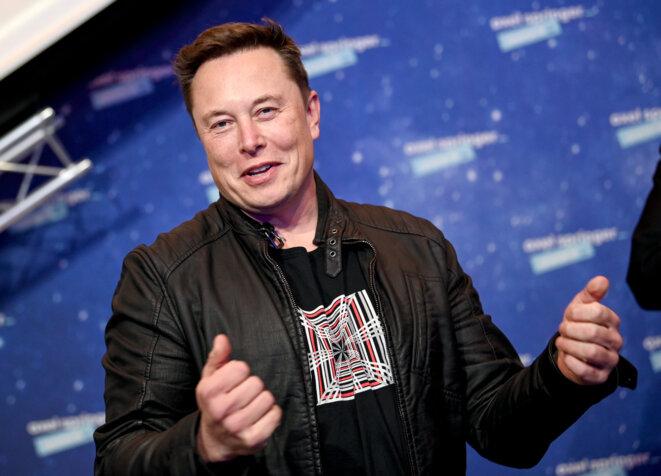 Elon Musk, patron de Tesla et de SpaceX. © Britta Pedersen / dpa Picture-Alliance via AFP