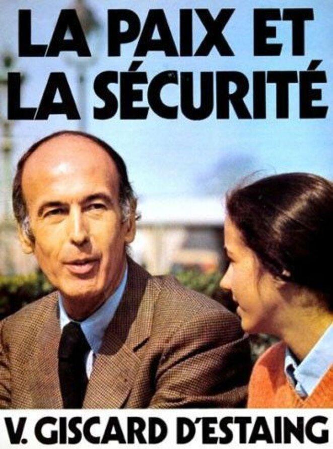 Affiche de campagne 1974