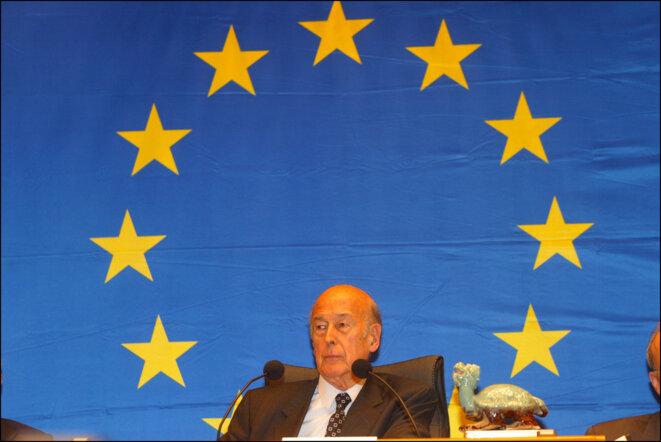 Valéry Giscard d'Estaing © Co-opérateurs:  Photographe: Jan van de Vel  Communautés européennes, 2002  Source: EC - Service audiovisuel