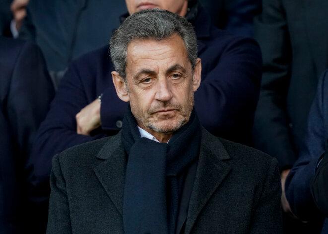 Nicolas Sarkozy en mai 2019, à Nice. © Lionel BONAVENTURE / AFP
