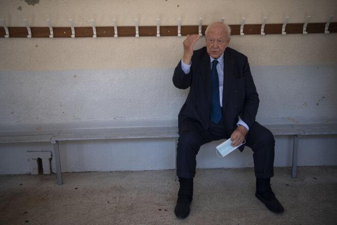Jean-Claude Gaudin, le 28 juin 2020. © Christophe SIMON / AFP