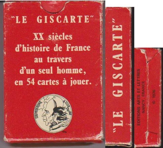 Boite Le Giscarte © Eddy Munerol