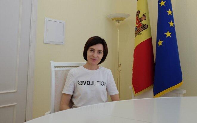 Maïa Sandu © opendemocracy