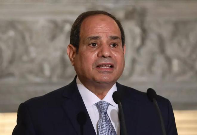 Le président égyptien Abdel Fattah al-Sissi. © DR