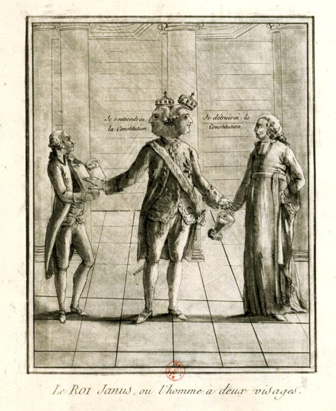 Le roi Janus ou l'homme à deux visages