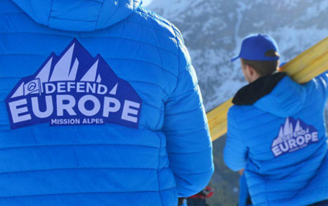L'assaillant portait un blouson «Defend Europe» du groupuscule Génération identitaire. © DR