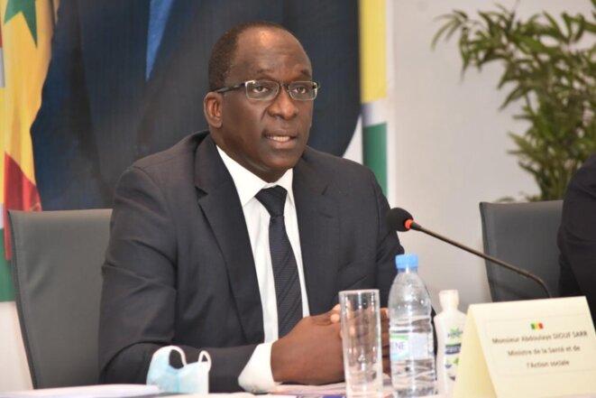 Le ministre de la santé et de l'action sociale du Sénégal.