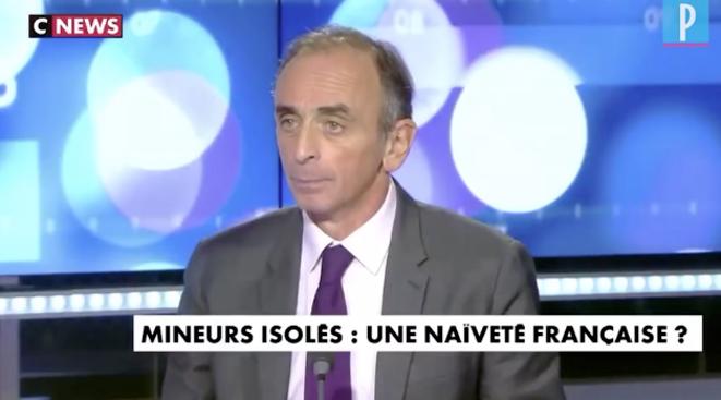 Éric Zemmour. © Capture d'écran CNews