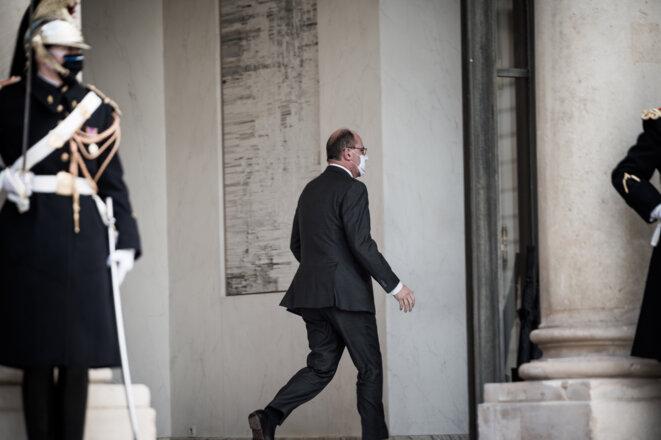 Fin du conseil des ministres, le 9 décembre. © Arthur Nicholas Orchard/Hans Lucas via AFP