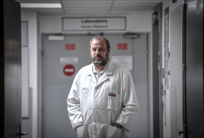Le professeur Renaud Piarroux. © STEPHANE DE SAKUTIN / AFP