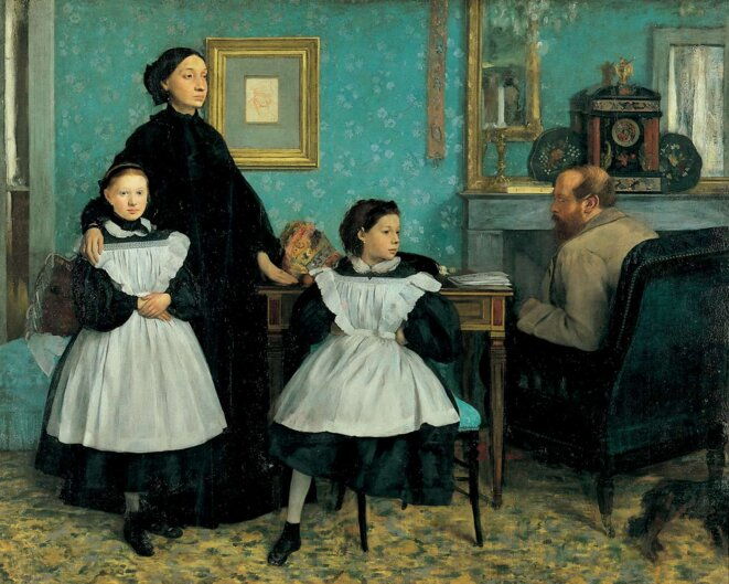 La famille Bellelli © Edgar DEGAS