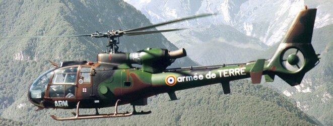Hélicoptère Gazelle