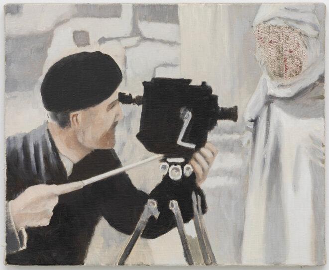 D'après La Zerda ou le chant de l'oubli, peinture à l'huile sur toile, Johannes Sivertsen 2020