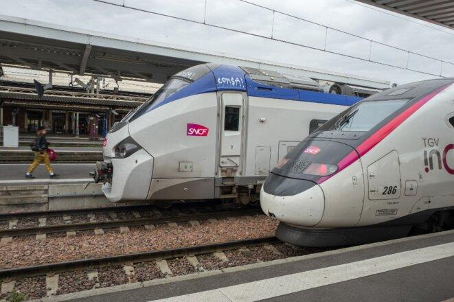 En gare de Toulouse-Matabiau, en octobre 2019. © Frédéric Scheiber / Hans Lucas via AFP