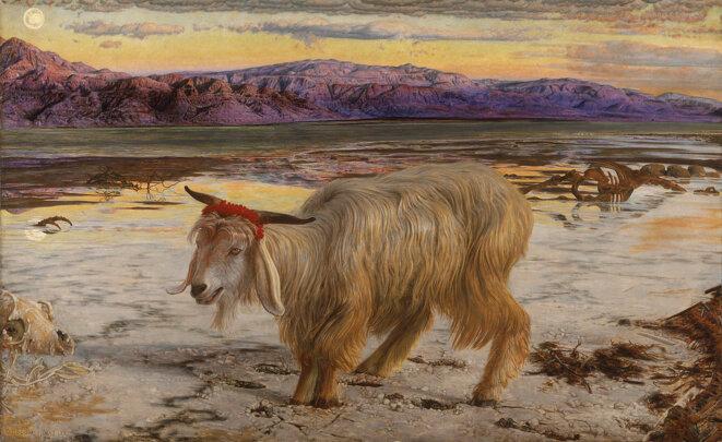 The Scapegoat, 1854-1956. © William Holman Hunt