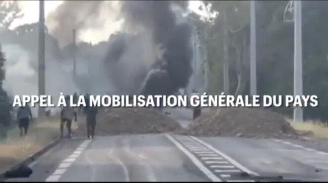Instance Coutumière Autochtone de Négociation (8/12/2020) © ICAN https://www.facebook.com/ICAN2020SUD/videos/950843142110571