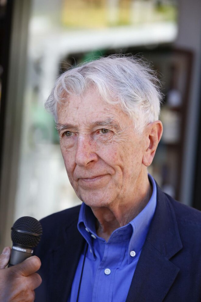 L'écrivain italien Corrado Augias