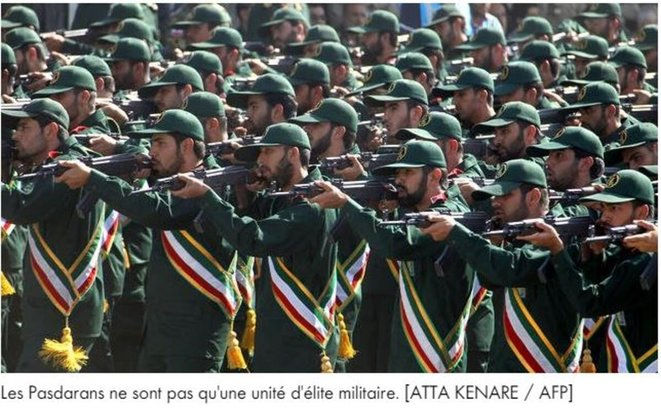 Iran-Les gardiens de la révolution© 2020 D.R./DBNEWS